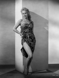 Virginia Mayo Leaning in Dress Photo by  Movie Star News
