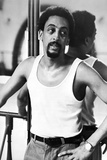 Gregory Hines Posed in White Tank top Photo by  Movie Star News