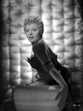 Shelley Winters Portrait in Black Strapless Dress and Gloves Photo by  Movie Star News