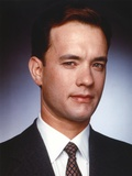 Tom Hanks Close Up Portrait in Black Coat Photo by  Movie Star News