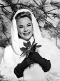 Sonja Henie on a Winter Attire With Coat Photo by  Movie Star News