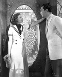 Katharine Hepburn wearing White Dress and a Man Starring Photo by A Kahle