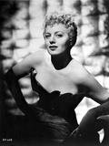 Shelley Winters Portrait in Black Strapless Dress Photo by  Movie Star News
