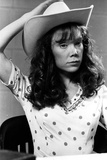 Sissy Spacek wearing a Polka Dot Blouse and a Hat in a Classic Portrait Photo by  Movie Star News