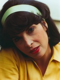 Talia Shire wearing a Yellow Polo with White Headband Photo by  Movie Star News