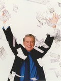 Regis & Kathie Portrait wearing Formal Suit Throwing Money Photo af  Movie Star News