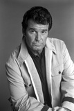 James Garner Posed in White Coat With Collar Photo by  Movie Star News
