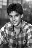 Ralph Macchio in checkered Polo Black Portrait Photo by  Movie Star News