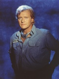Rutger Hauer Posed with a Denim Jacket Photo by  Movie Star News