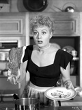 Shelley Winters Holding Plate in Classic Photo by  Movie Star News