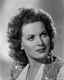 Maureen O'Hara Close Up Portrait wearing Glittery Vest Photo by E Bachrach