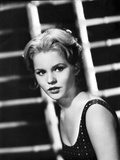 Tuesday Weld in Classic Portrait wearing polka dot Top Photo by  Movie Star News