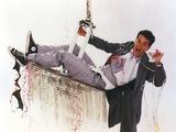 Tom Hanks Posed in Grey Coat Photo by  Movie Star News