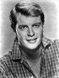 Troy Donahue Posed in checkered Polo Photo by  Movie Star News
