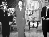 Rosalind Russell in Dress with Arms Wide Open Photo by  Movie Star News