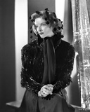 Katharine Hepburn Pose in Black Gown Photo by E Bachrach