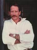 Peter Strauss Cross-Arms Pose in White Long Sleeve Portrait Photo by  Movie Star News