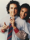Perfect Strangers in Formal Long Sleeves with Tie Portrait with White Background Photo by  Movie Star News
