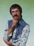 Sonny Bono Posed in Printed Long Sleeve Polo Photo by  Movie Star News