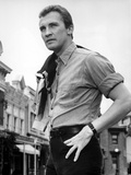 Roy Thinnes standing in Formal Shirt With Hands on Hip Photo by  Movie Star News