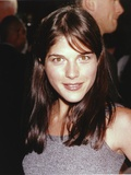 Selma Blair smiling in Dress Portrait Photo by  Movie Star News
