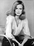 Shelley Hack Seated in Classic Photo by  Movie Star News