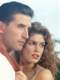 William Baldwin with Woman in Movie Scene Photo by  Movie Star News