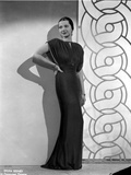 Sylvia Sidney wearing an Evening Gown and Hand on Waist Photo by  Movie Star News