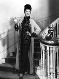 Rosalind Russell Going Down the Stair Case and Holding a Cigarette Photo by  Movie Star News