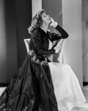 Katharine Hepburn in White Dress Photo by E Bachrach