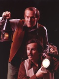 Smothers Brothers in Brown Outfit Portrait Photo af Movie Star News
