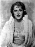 Ruth Roland in White Fur Coat Portrait Photo by  Movie Star News