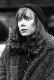 Sissy Spacek wearing a Winter Jacket and a Bonnet in a Classic Portrait Photo by  Movie Star News
