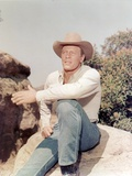 Peter Graves Portrait in Brown Hat Photo by  Movie Star News