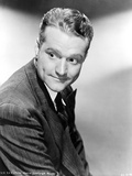 Red Skelton Looking Away in Formal Suit Black and White Portrait Photo by  Movie Star News