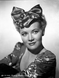 Penny Singleton wearing Ribbon Hair Band Portrait with White Background Photo af  Movie Star News