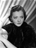 Sylvia Sidney in a Black Blouse with Ring and Bracelet Photo by  Movie Star News