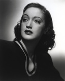 Dorothy Lamour Portrait in Black and White with Blouse Photo by  Movie Star News