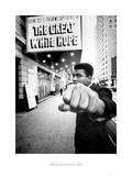 Muhammad Ali bajo cartel