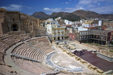 The Roman Theatre, Cartagena, Spain Photographic Print by Rob Cousins