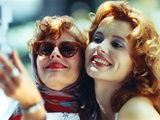 Thelma & Louise in White Dress Photo by  Movie Star News