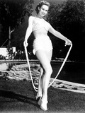 Virginia Mayo smiling and Skipping on Jump Rope Photo by  Movie Star News