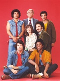 Welcome Back Kotter Group Picture in Red Background Photo by  Movie Star News