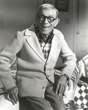 George Burns smiling in Formal Outfit Classic Portrait Photo by  Movie Star News