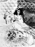 Vivien Leigh in Classic Portrait on Bed Photo by  Movie Star News