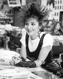 Annie Potts Seated in Classic Photo by  Movie Star News