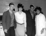 Chubby Checker With Cast Portrait Photo by  Movie Star News