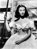 Vivien Leigh Posed in Dress with Hand Clenched Photo by  Movie Star News