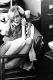 Amanda Plummer Seated in Classic Photo by  Movie Star News