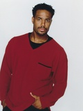 Wayans Brothers Portrait in Red jacket Photo by  Movie Star News
